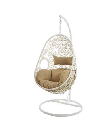 Chaise œuf rhodes