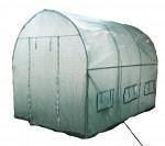 Serre jardin tunnel structure métal 2 x 3 m - 6 m²