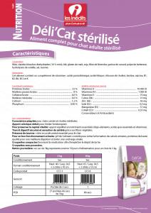 CROQUETTES DELI'CAT STÉRILISÉ 3 KG