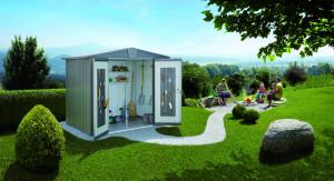 Abri Europa gris quartz, 5,56 m²